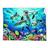 Dolphin Bed Throws and Blankets